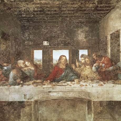 Last Supper Painting Leonardo