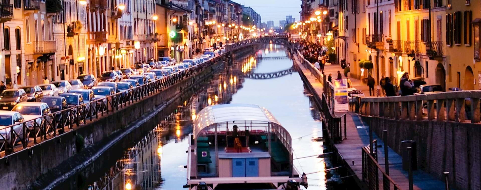 Milan Canal Boat