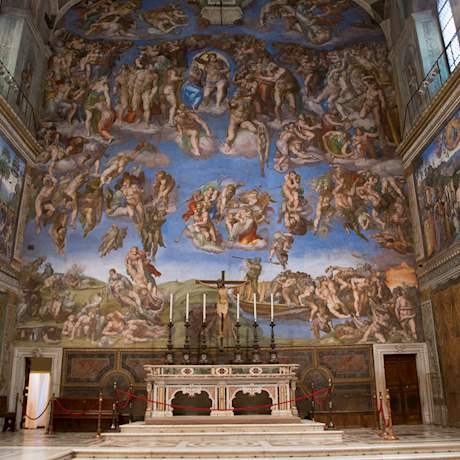 Altar of the Sistine Chapel