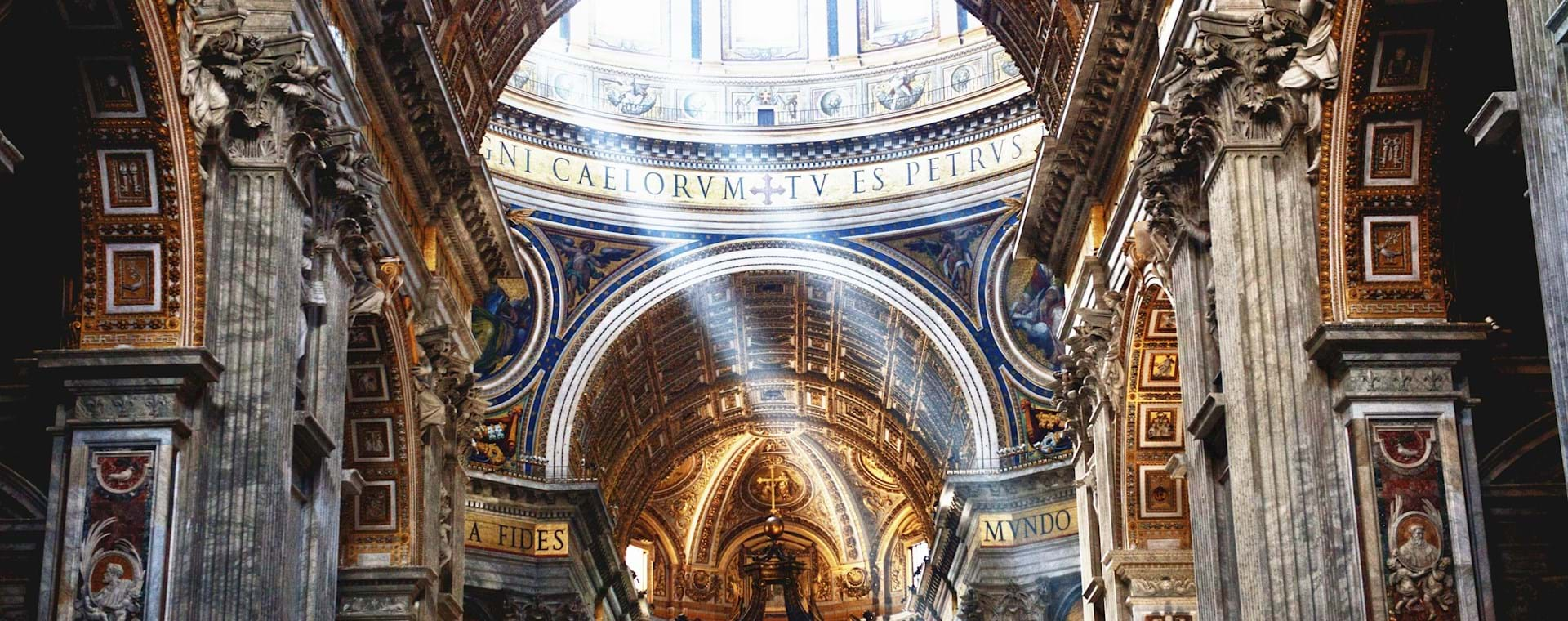 under dome St Peter's Basilica
