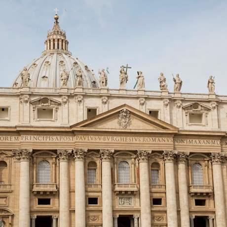 St. Peter's Basilica close up