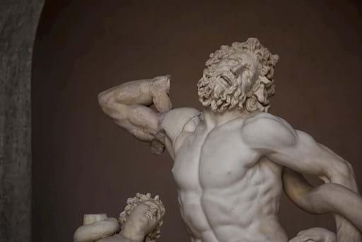 Lacoon statue Vatican Museums