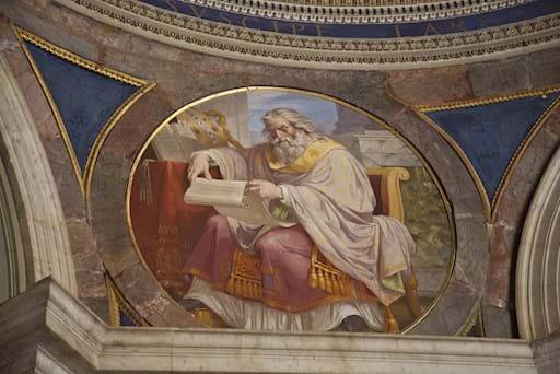 Vatican dome close-up