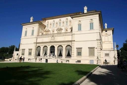 Villa Borghese Front View