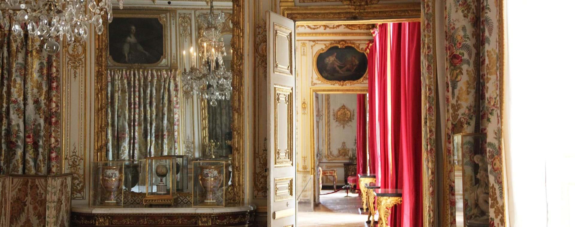 Versailles Palace Interior Corridor