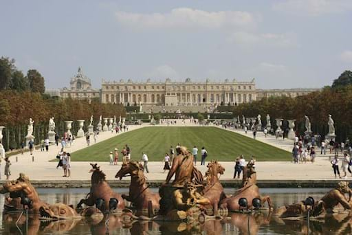 Versailles Palace general view