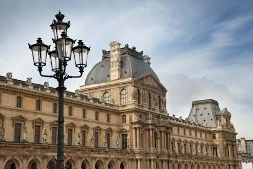 Louvre Museum facade