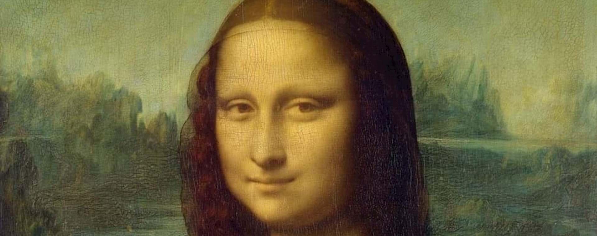Mona Lisa Portrait Closeup