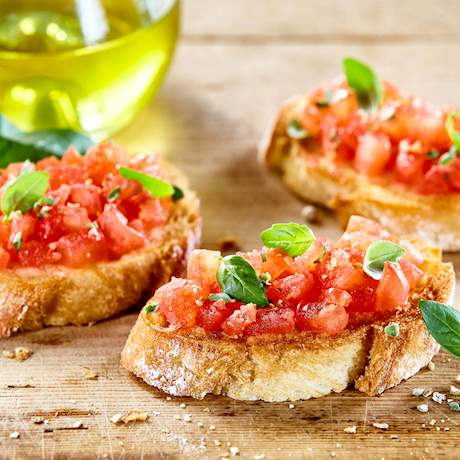 Italian Tomato Bruschette