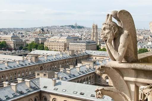 Montmartre from Gargoyle view