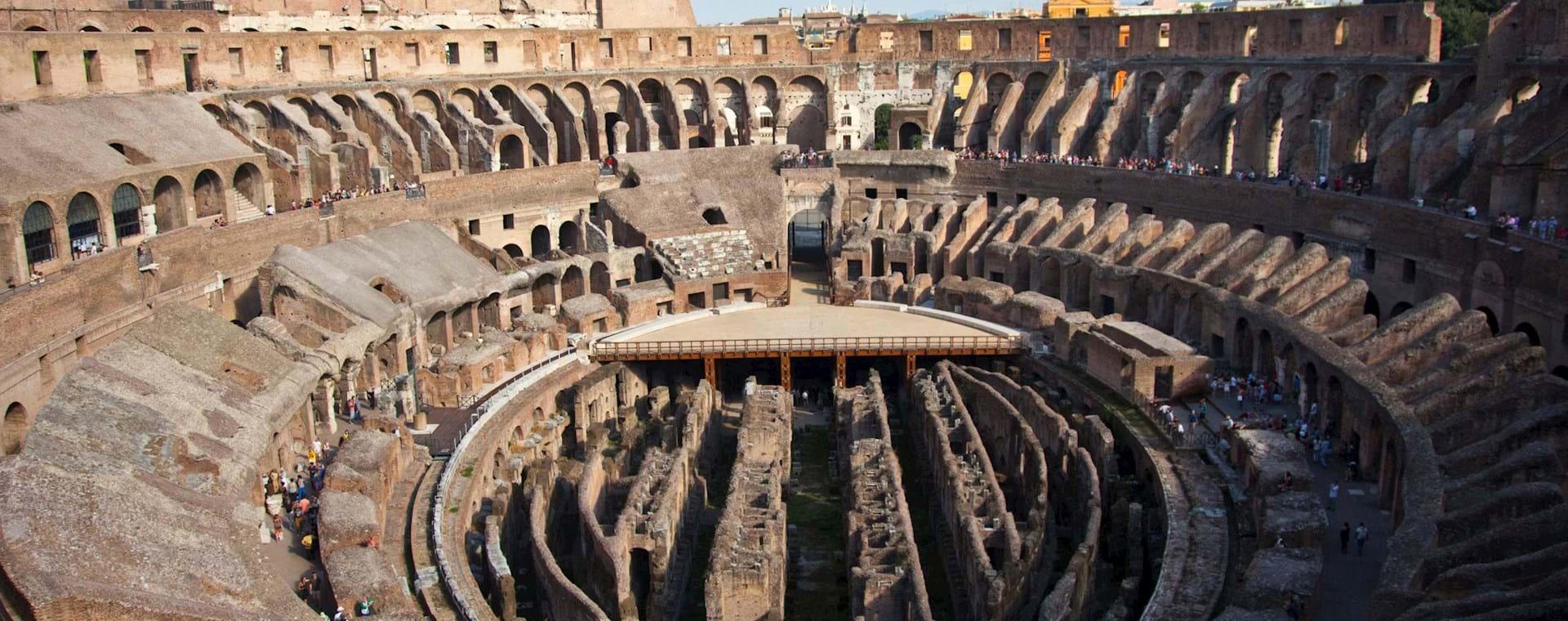 Kolosseum-Tour einschließlich Eintritt zum Kolosseum, Forum Romanum und Palatin