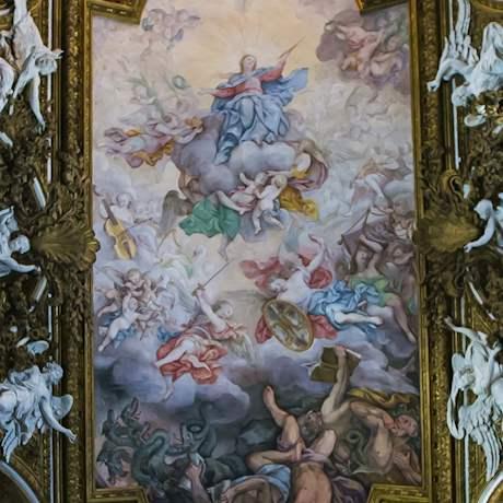 St. Maria della Vittoria Church fresco