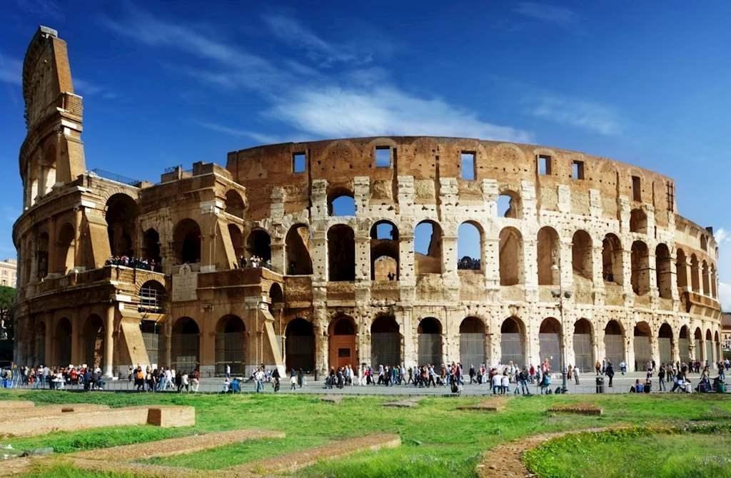 Colosseum Sunny Day