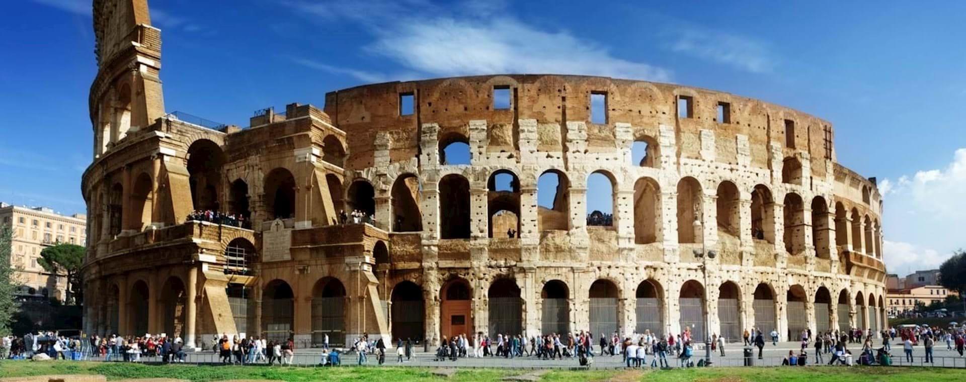 Visita Guiada ao Coliseu & à Roma Antiga incluindo o Fórum Romano & o Monte Palatino