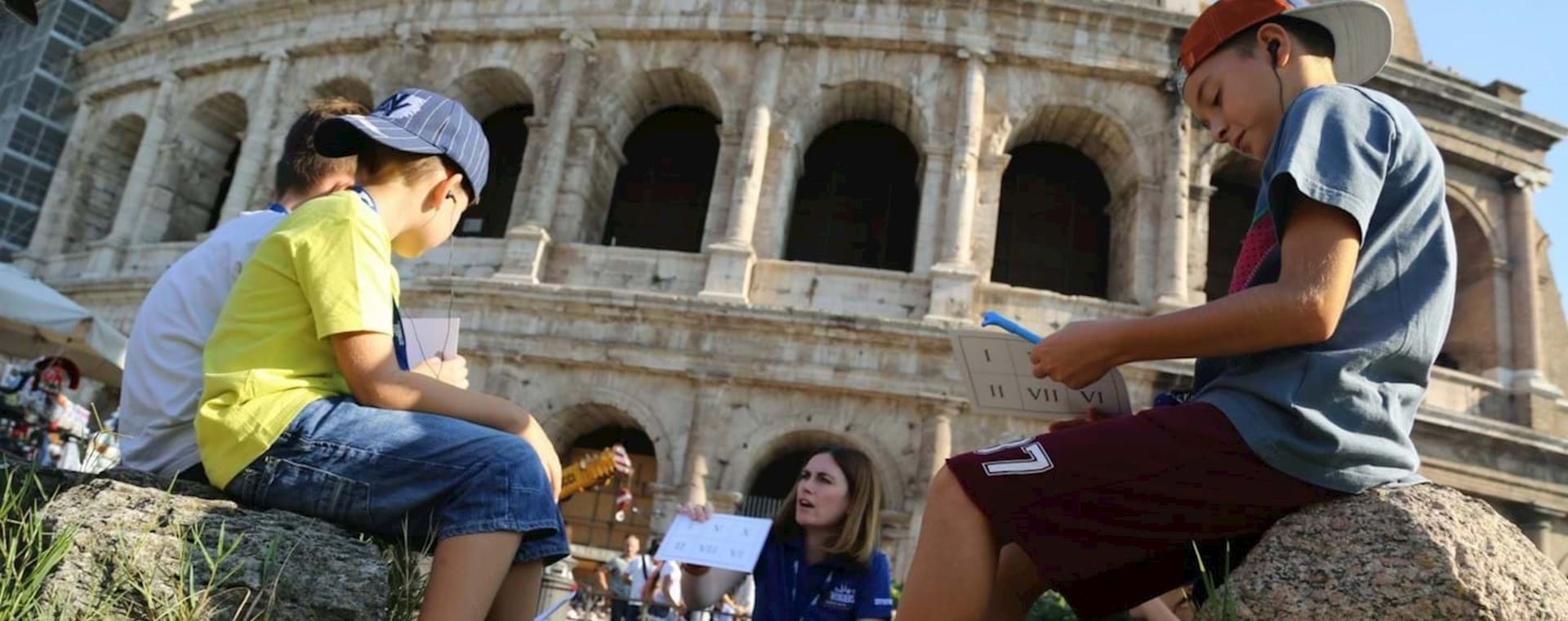 Interactive Colosseum for Families Tour