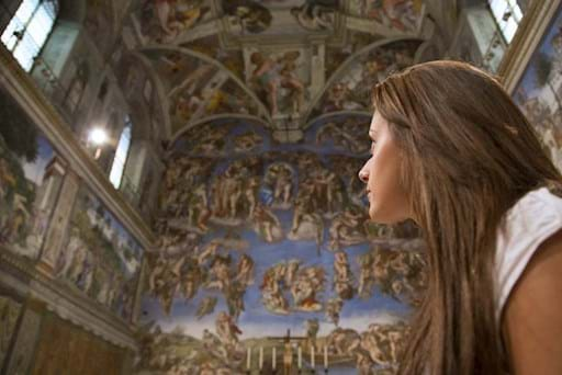 Sistine Chapel First Entry