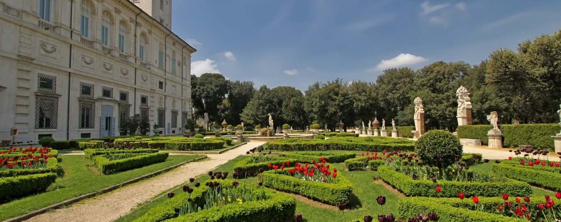 Visite de la Galerie et des jardins Borghèse en Français