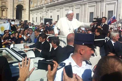 Pope Francis in Papal Audience