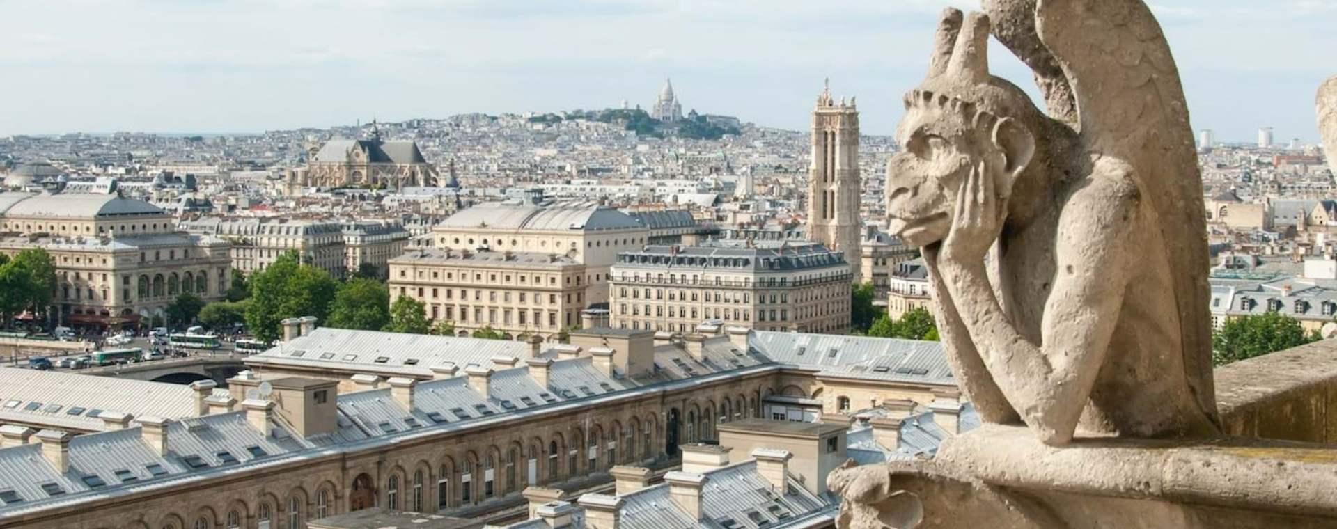 Private Notre Dame Tour with Towers and Île de la Cité