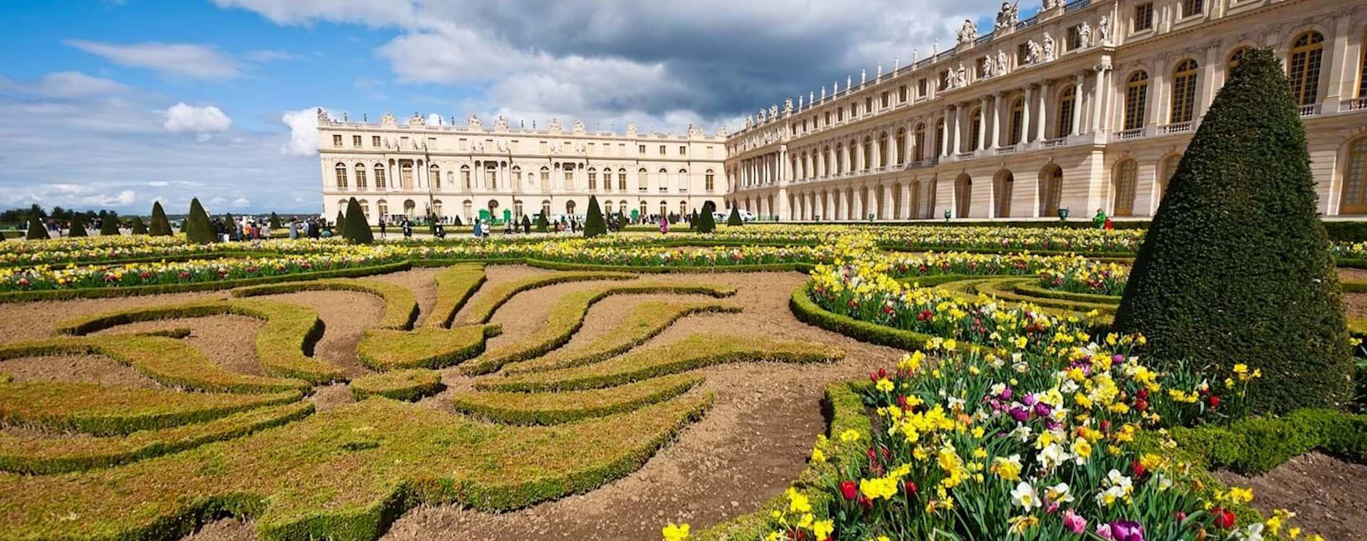 Tour Palacio y Jardines de Versalles con Espectáculo de Fuentes desde Versalles