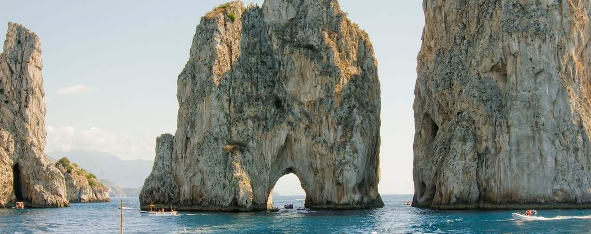 Day Trip: Capri from Naples with Blue Grotto Option