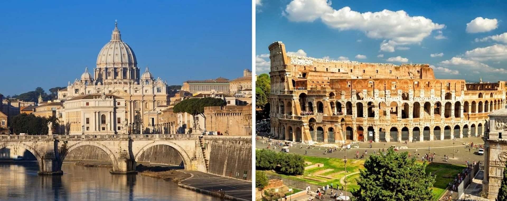 Kombi-Tagestour Vatikan und Kolosseum