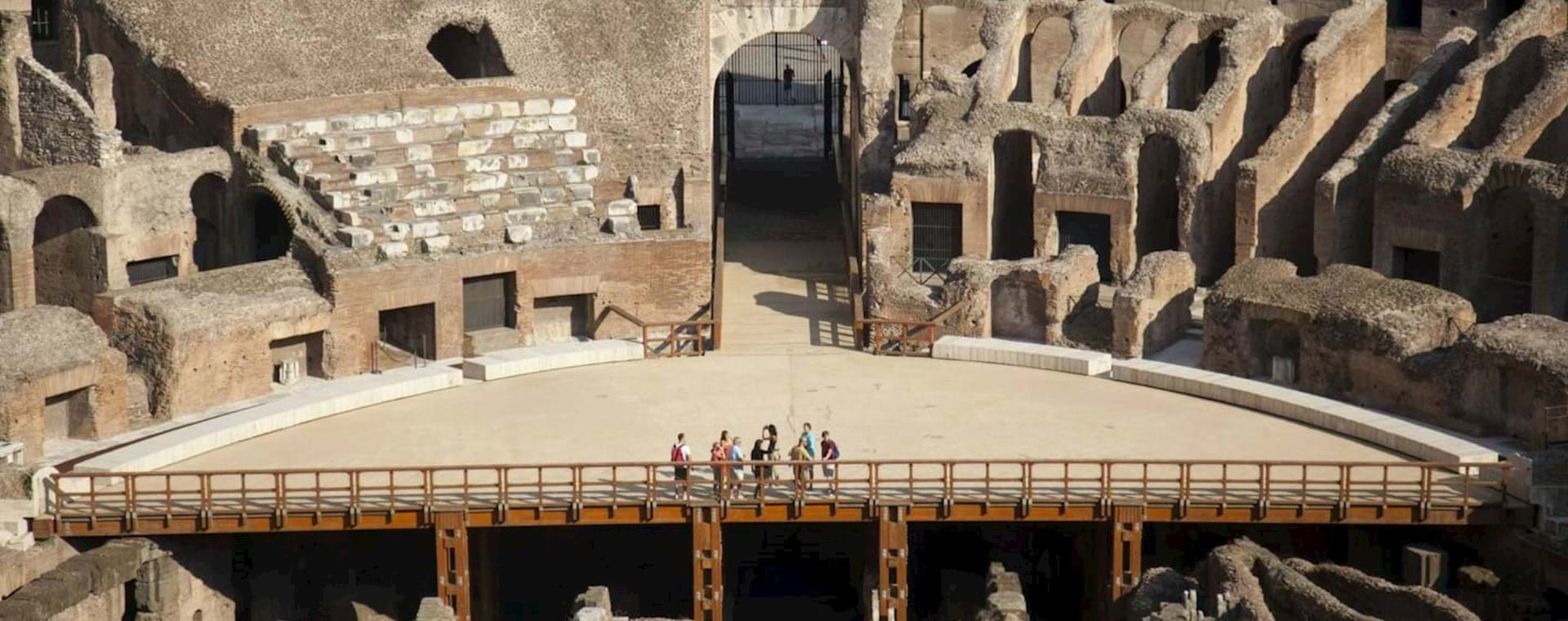 Gladiator's Gate Colosseum Tour with Special Access to the Arena Floor