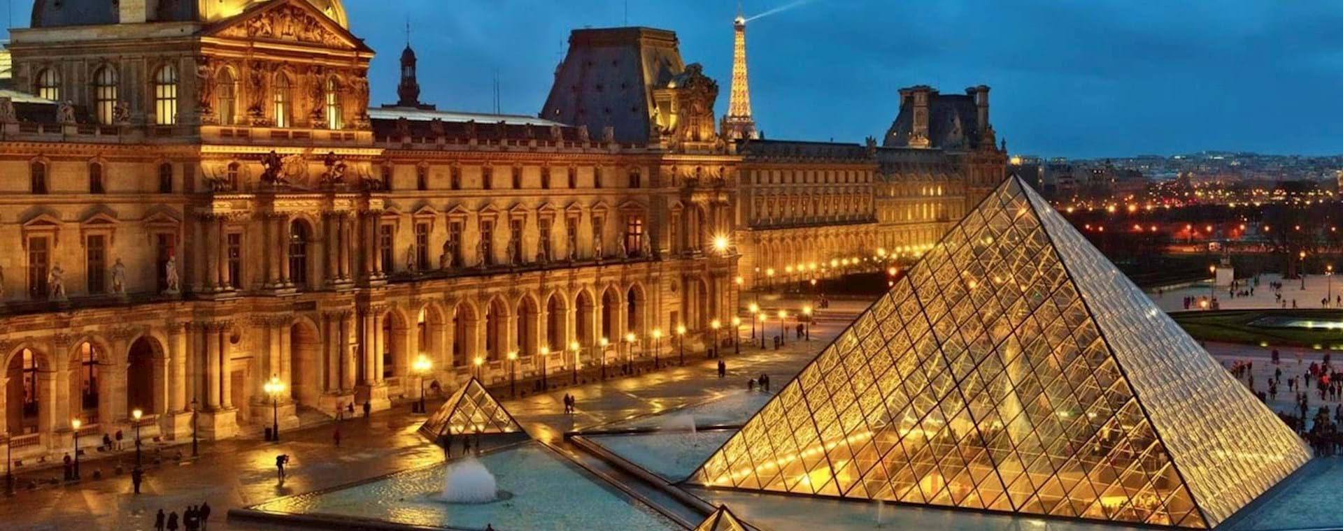VIP Louvre Highlights and Wine Tasting Evening Tour