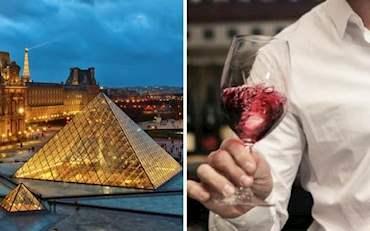 Louvre Evening Wine