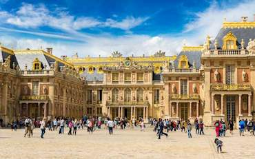 versailles king's entrance