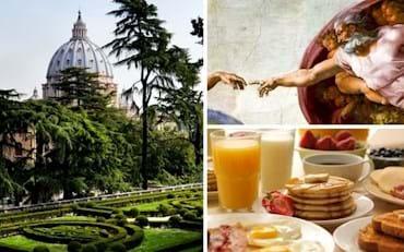 Vatican Garden and Breakfast