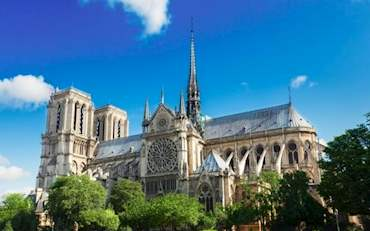 Notre Dame Side View
