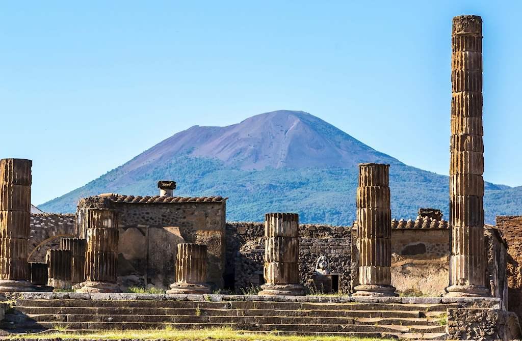 Bus Tour Pompeii From Rome