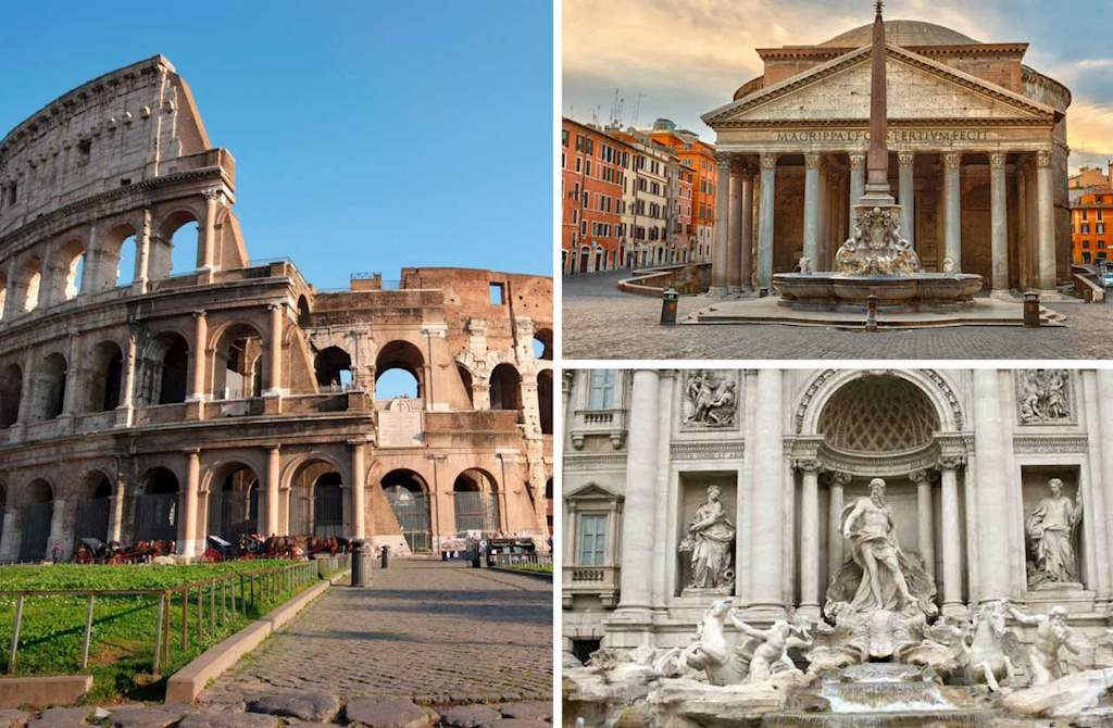 rome's top sights in a day