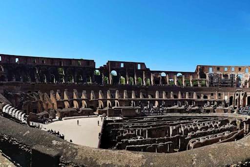Colosseum Interior Panorama
