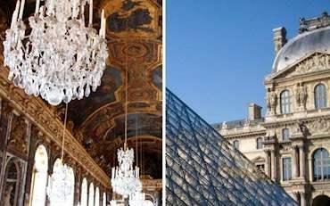 Louvre Versailles Combo