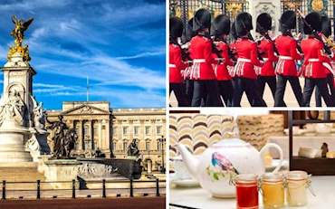Buckingham Palace Changing Guard & Tea