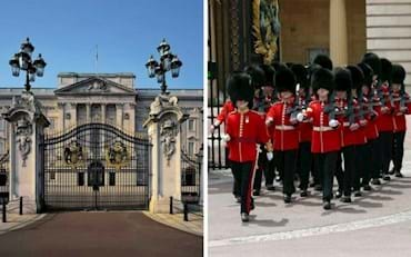 Buckingham Palace Changing Guards