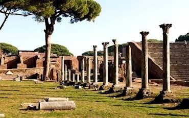 Ostia Antica Roman ruins