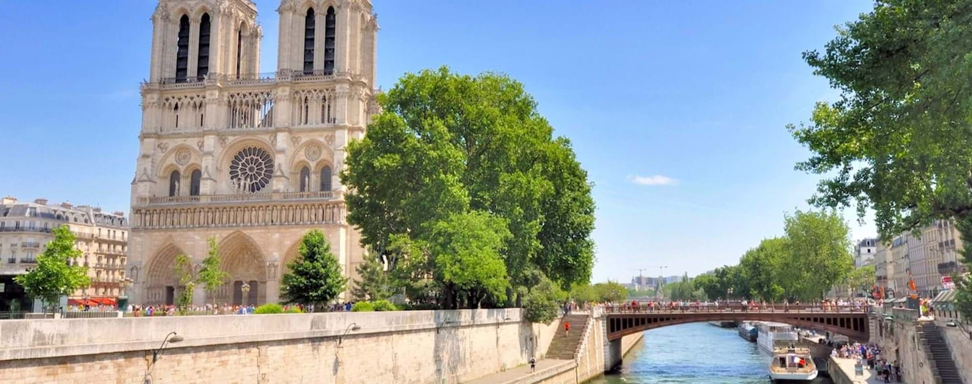 Perfect day in Paris: Louvre, Notre Dame Island & Cruise Down the Seine