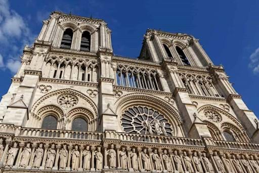 Notre Dame Facade Paris