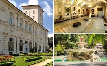 Borghese Gallery Gardens