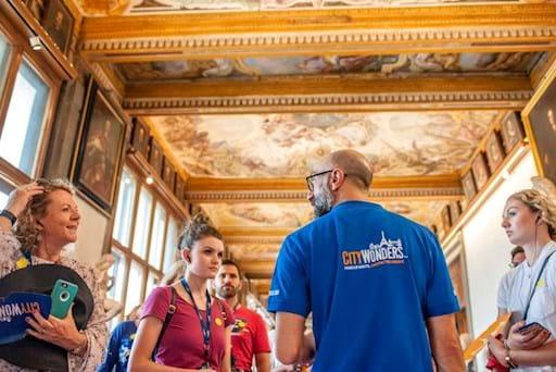 Uffizi Gallery Corridor Paintings