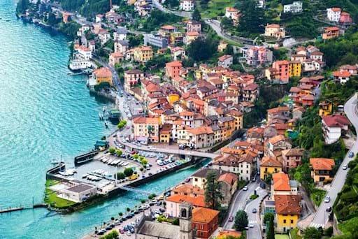 Bellagio Aerial View