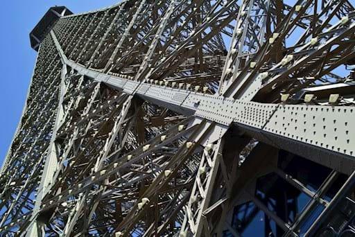 Eiffel Tower scaffold