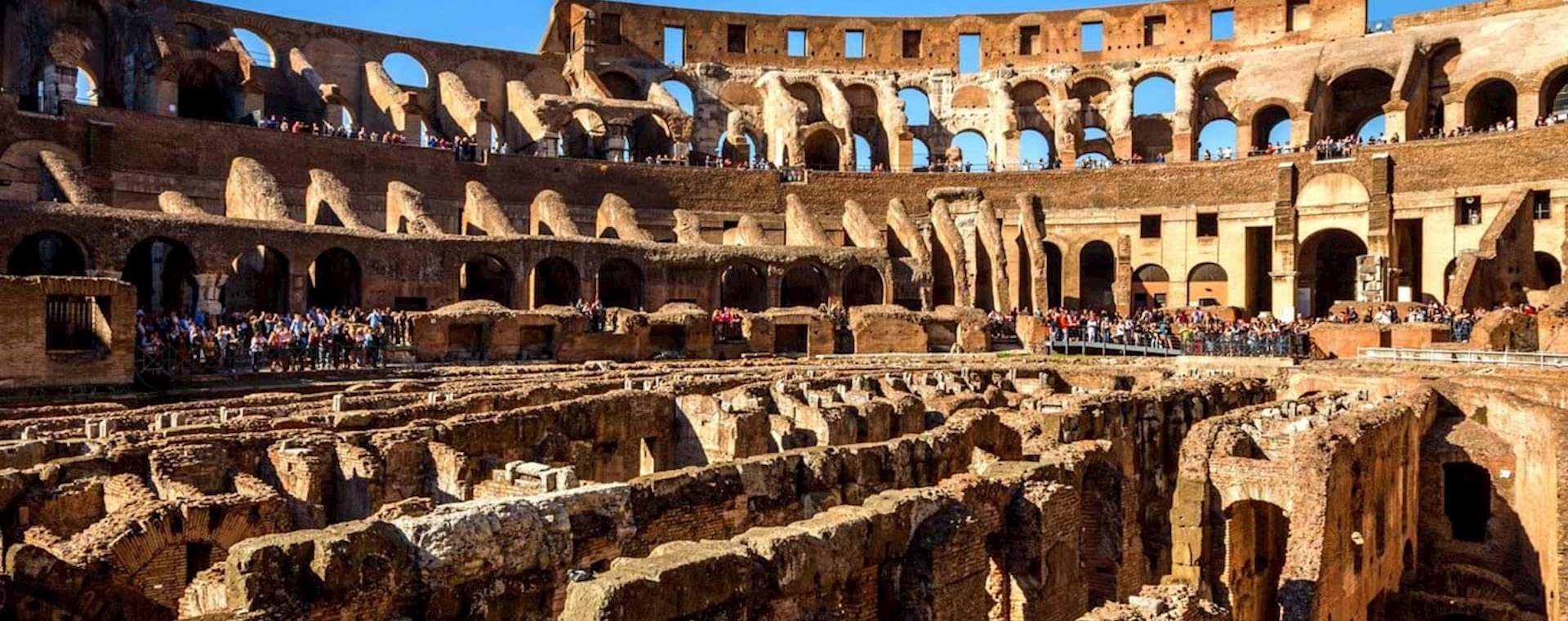 Colosseum Tour with Newly Opened Top-Level Access