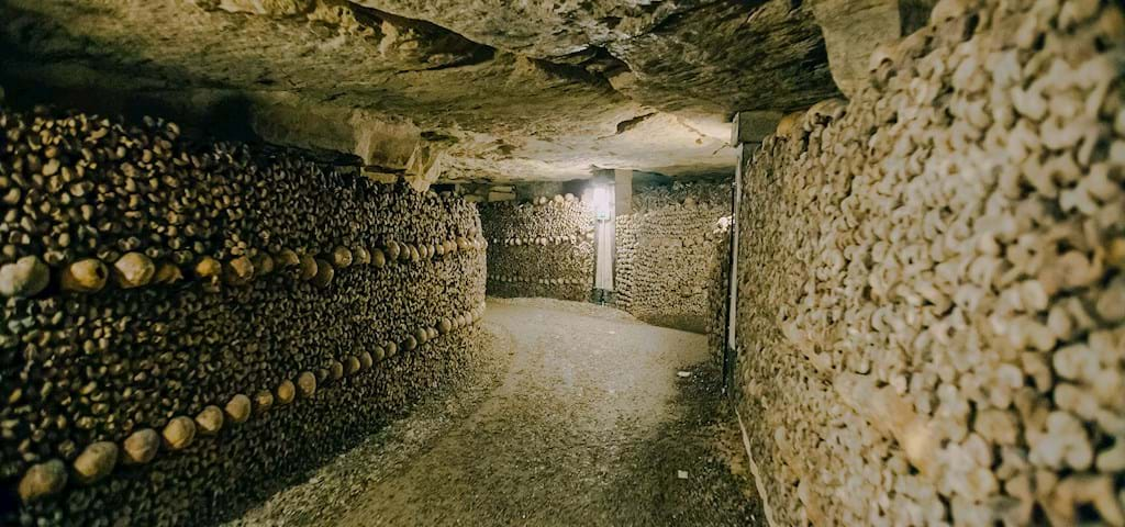 catacombs of Paris Tunnel