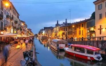 Milan Navigli by Night