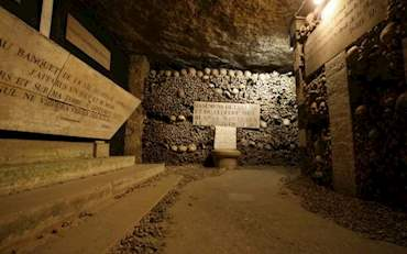 Catacombs of Paris, France