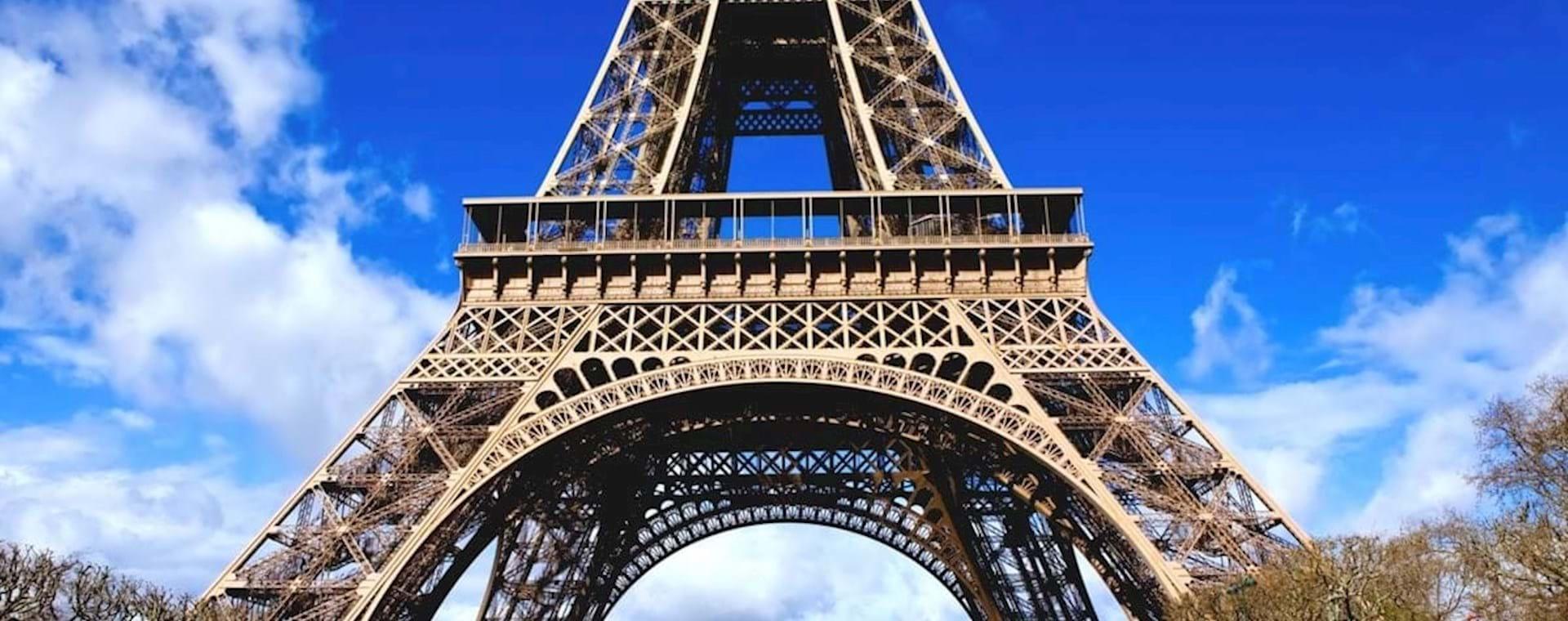 Eiffel Tower sunny day
